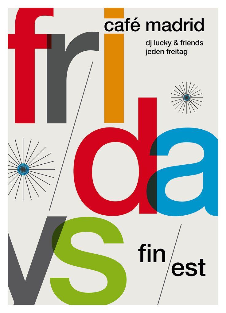 adventures in #helvetica #swiss design #poster