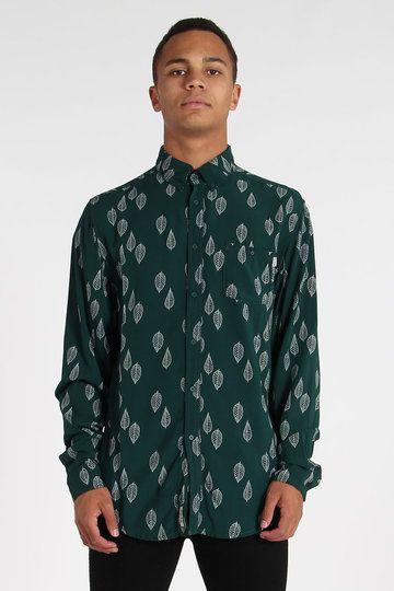 Rhythm's bottle green Autumn Shirt