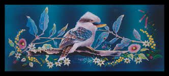 Image result for kookaburra mosaic