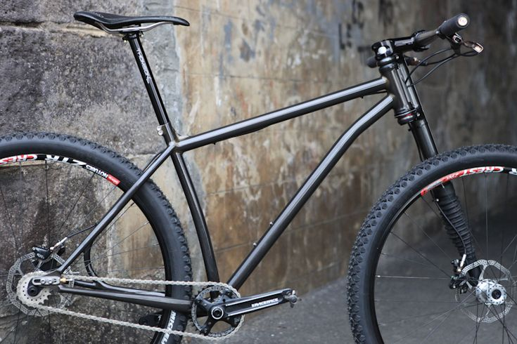 Victoire Cycles 29er MTB frame with Thomson components and Lefty fork