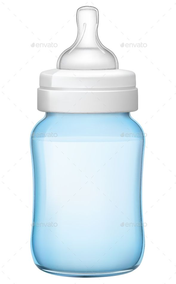 Baby Bottle by Grebenuk Baby Bottle vector Illustration. In ZIP 鈥?20archive: eps (10 version), AI (CS5), high resolution JPG