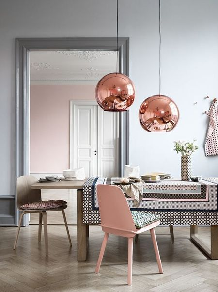 Создайте свои собственные медные подвесные светильники с Rustoleum медной металлической