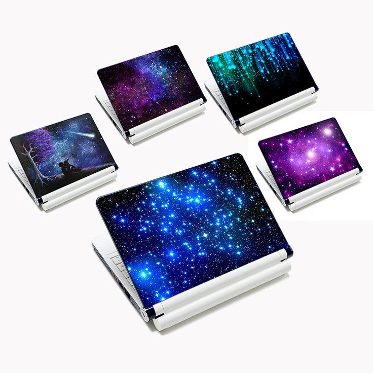 Cielo stellato personalità diy della decalcomania autoadesivo del computer portatile 13 15 15.6 pollice laptop skin per lenovo/acer/asus computer