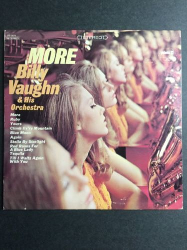 Billy Vaughn & His Orchestra - More VINYL LP Pickwick 33 Records