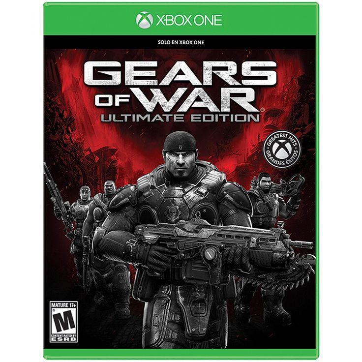 Xbox One Gears of War Ultimate Edition; El Gears of War original regresa remasterizado y modernizado para XboxOne. Este es el juego de disparos que definirá la primera generación de juegos en alta definición y ahora está de vuelta mejor que nunca con nu