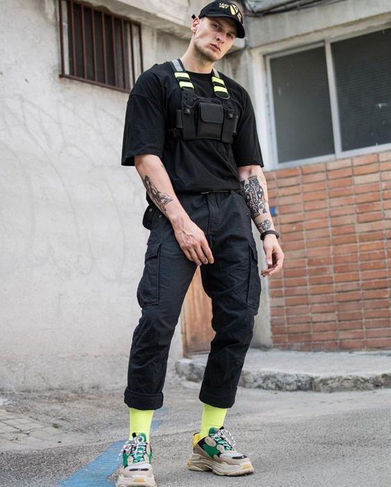 triple s outfit men