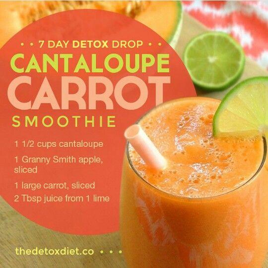 Cantaloupe carrot Smoothie