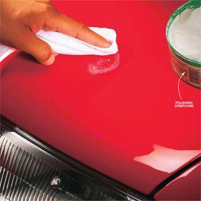 Repair Chipped Car Paint