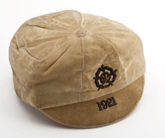 Billy Kirton's sole England cap, versus Ireland in 1921.  Kirton scored.