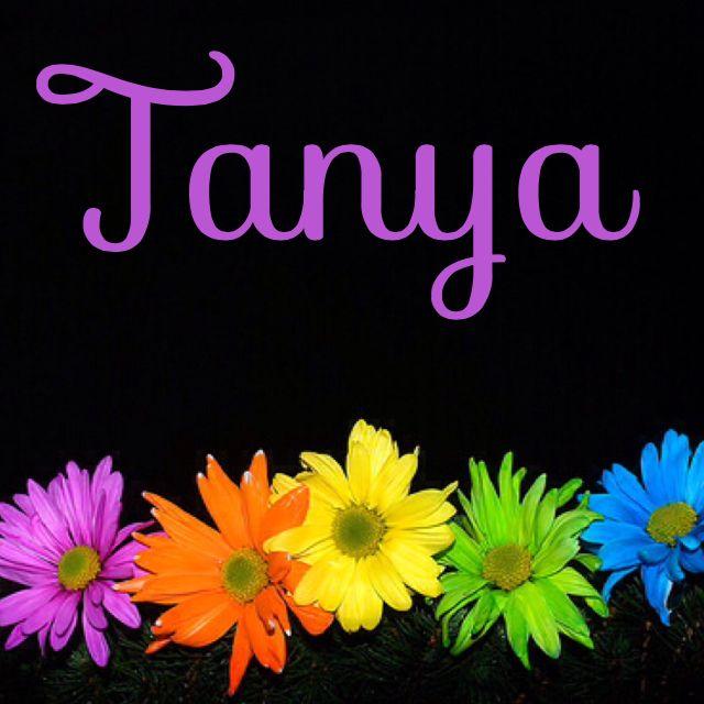 17 Best images about Tanya on Pinterest | Legends, Names ...
