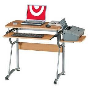 Compact Computer Desk Cherry - Techni Mobili : Target