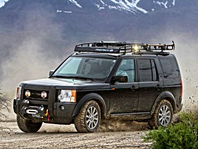 BajaRack for Land Rover. That what I am talking about