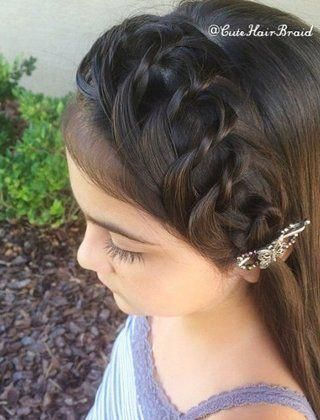 20 Creative Braided Back to School Haistyles cuteBraided+#back_to_school_bullet… – Back To School