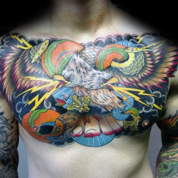 80 Eagle Chest Tattoo Designs For Men Manly Ink Ideas Eagle Chest Tattoo Tattoo Designs Men Tattoo Designs