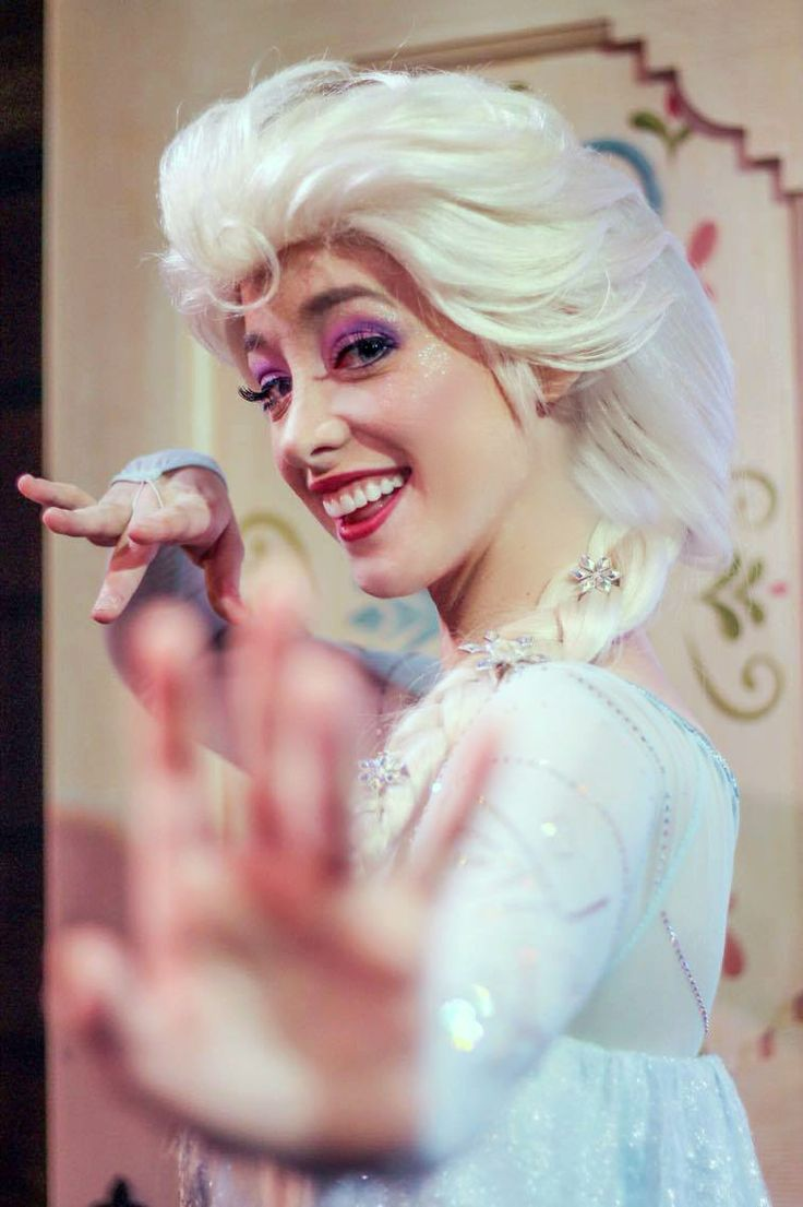Can't hold it back anymore, let it goooo.  Queen Elsa of Arendelle, Walt Disney World