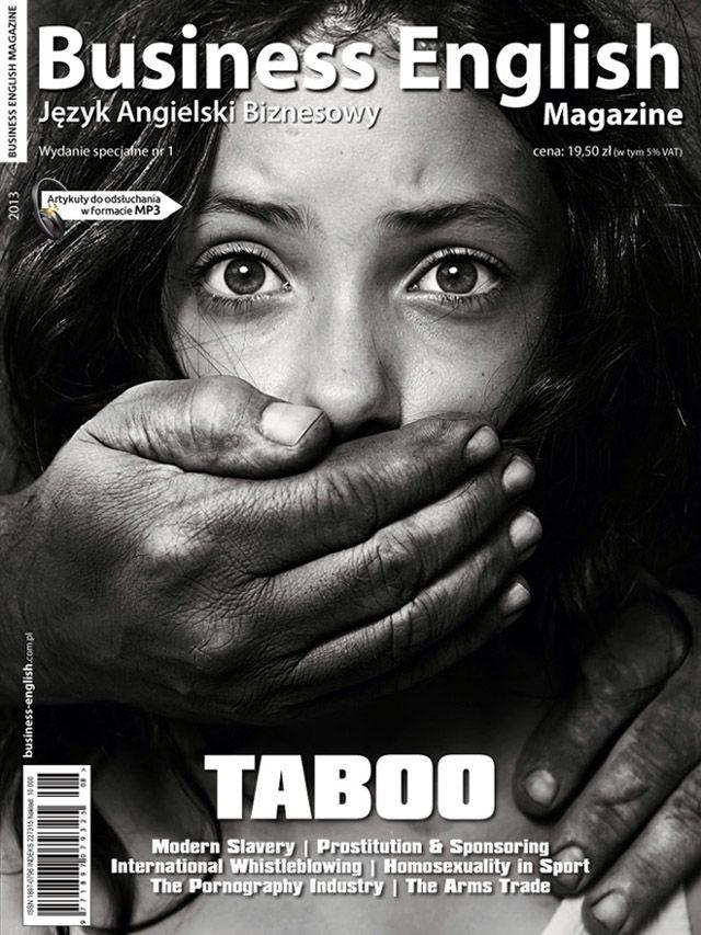 Business English Magazine Taboo - wydanie specjalne (dostępne na http://kiosk.colorfulmedia.pl)