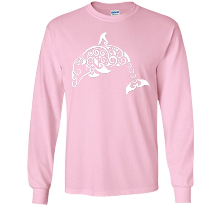 Adorable Dolphin Curl Animal Decoration 2017 T Shirt
