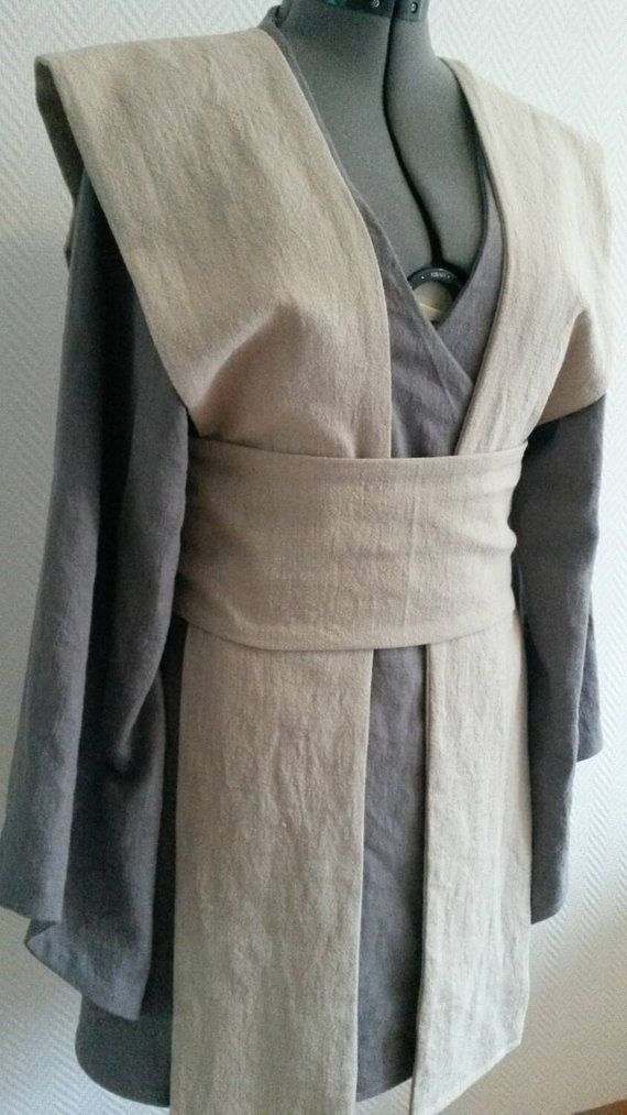 Made to order: Natural/grey linen Star Wars by AvalondesignsNL