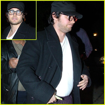 Fat Jared Leto... For the movie he did chapter 27 wow from skinny to fat to skinny again- amazing guy!