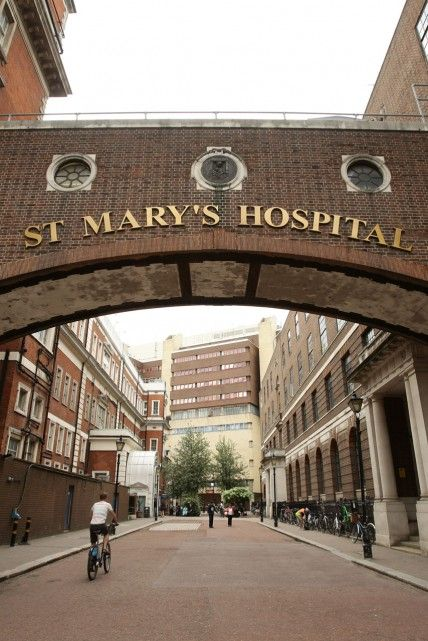 The Lindo Wing at St Mary's Hospital where Kate Middleton will give birth