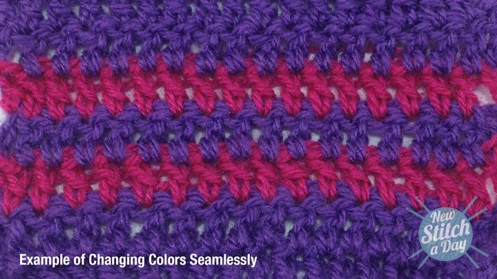 Crocheting How To Change Colors : How to Change Colors Seamlessly YARN-Crocheting,etc. Pinterest
