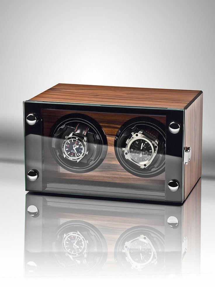 Rothenschild Uhrenbeweger Chicago RS-2298-RSW fuer 2 Uhren