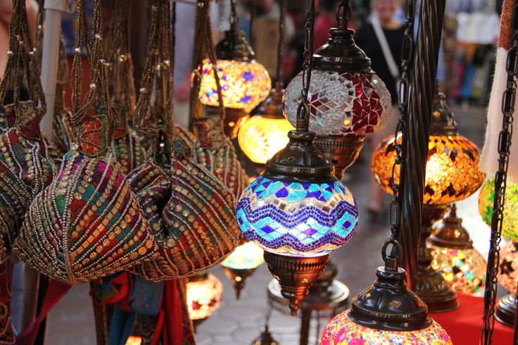 Lamps at old souk