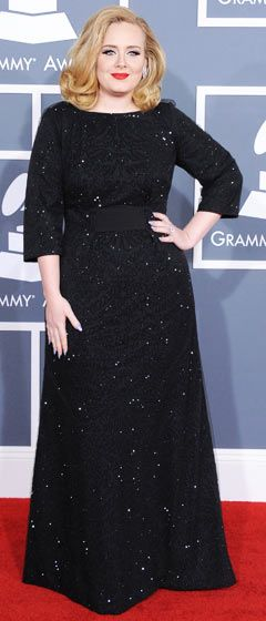 Adele at the Grammys. BEAUTIFUL!