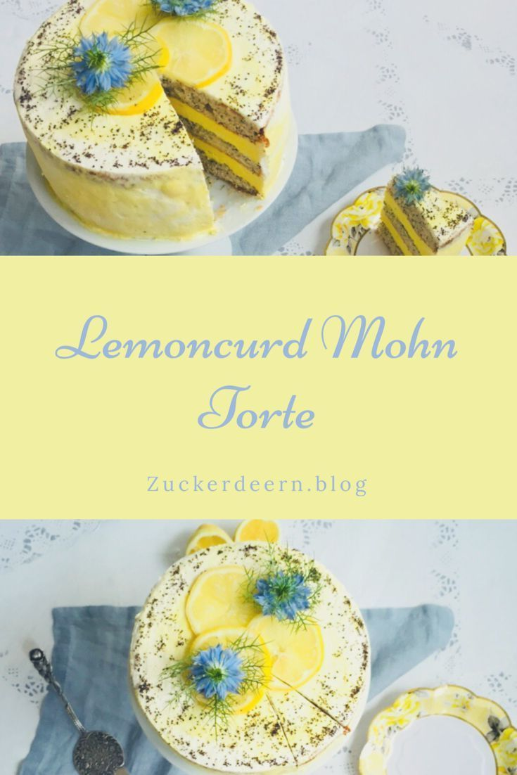 Lemoncurd Mohn Torte Ein Absolutestraumpaar In 2020 Cake Recipes Bundt Cakes Recipes Seed Cake