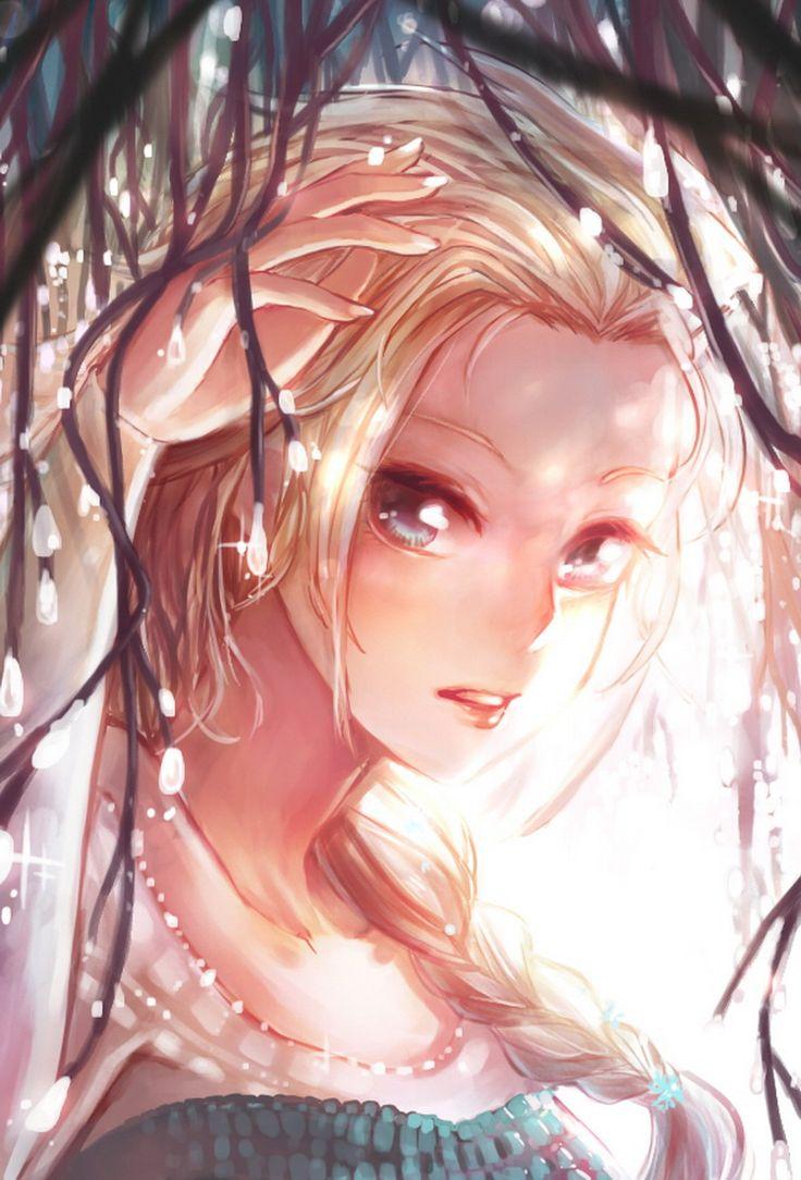 "Elsa from ""Frozen"" - Art by Muan"