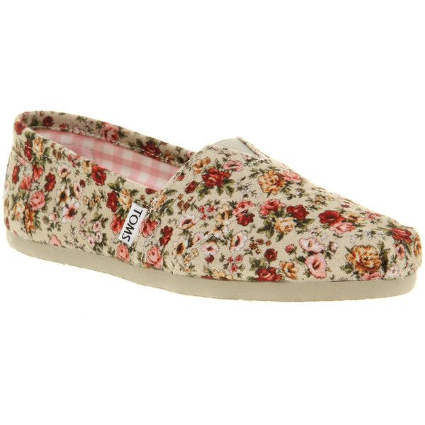 Toms Seasonal classic slip on pewter sequin ($69) ❤ liked on Polyvore