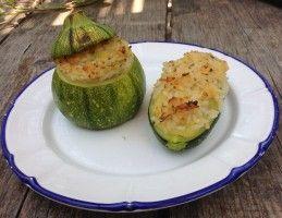 Zucchine ripiene di risotto
