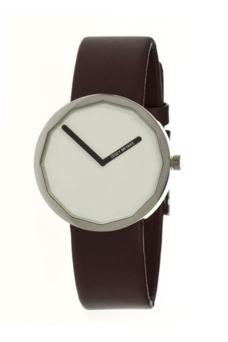 a minimalist take on a geometric watch. lovely. by Issey Miyake. via JackThreads.