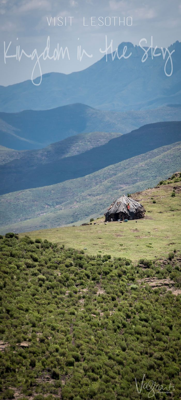 The mountains of Lesotho set the stage as the perfect destination for outdoor adventure.