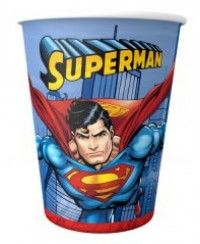 Superman Bardak 8 Adet