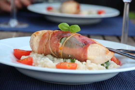 Parmakylling med risotto