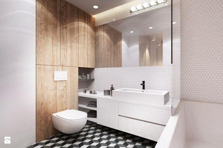 Łazienka styl Nowoczesny - zdjęcie od Finchstudio Architektura Wnętrz - Łazienka - Styl Nowoczesny - Finchstudio Architektura Wnętrz