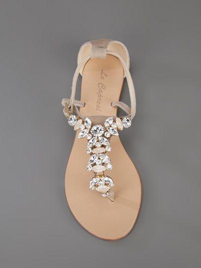Le Capresi - Anja embellished sandal