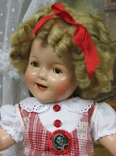 Early Diamond Marked Ideal Novelty & Toy Co. Shirley Temple, Composition