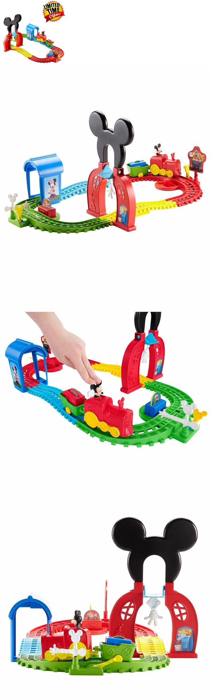 Mickey 19219: Mickey Mouse Train Express Disney Playset Toy Kids Girls Boys Gift Clubhouse Set -> BUY IT NOW ONLY: $44.25 on eBay!