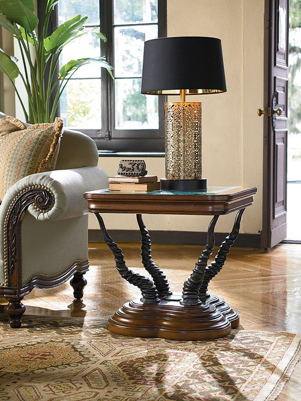 Sectional Sofa  Trophy Horn Table Thomasville Furniture ErnestHemingway