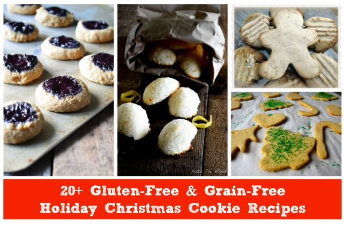 20+ Gluten-Free & Grain-Free Holiday Christmas Cookies - DontMesswithMama.com