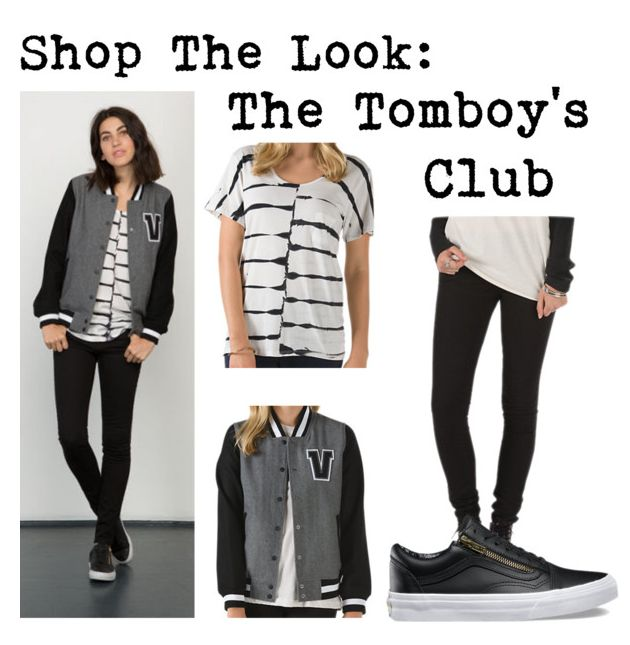 Perfect the art of tomboy chic with skinny jeans and a sporty jacket.