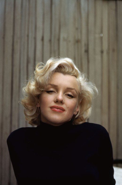 Marilyn Monroe at Home in Hollywood: Color Portraits, 1953   LIFE.com