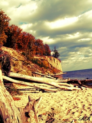 Gdynia, Poland, Cliffs