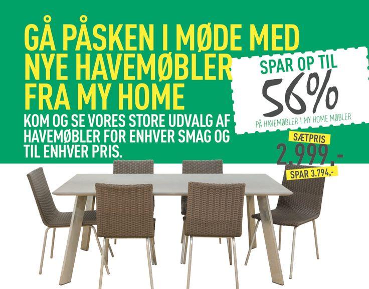 havemøbler på tilbud spar 56% hos My Home