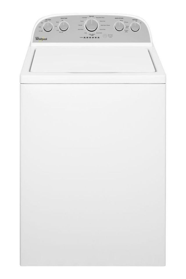 Whirlpool WTW5000DW 4.3 Cubic Feet High-Efficiency Top-Load Washing Machine - BestProducts.com