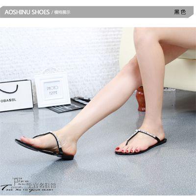 2015 новых женских вьетнамках свободного покроя сандалии для женщин квартир тапочки летние мода пляжные сандалии женщин простые вьетнамках купить на AliExpress