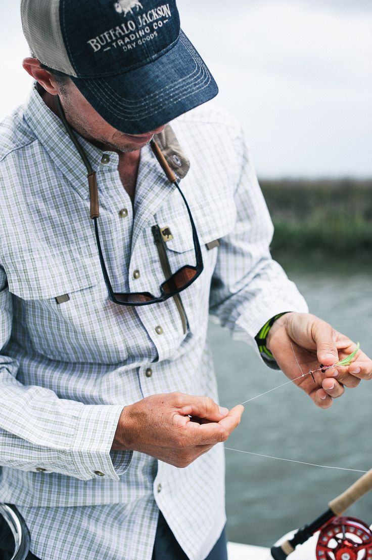 The Riverdale: Mens High Performance Technical Fishing Shirt: Trimmer Fit, All the Details. The shirt he wants to wear - and you want to see him in - on and off the water.