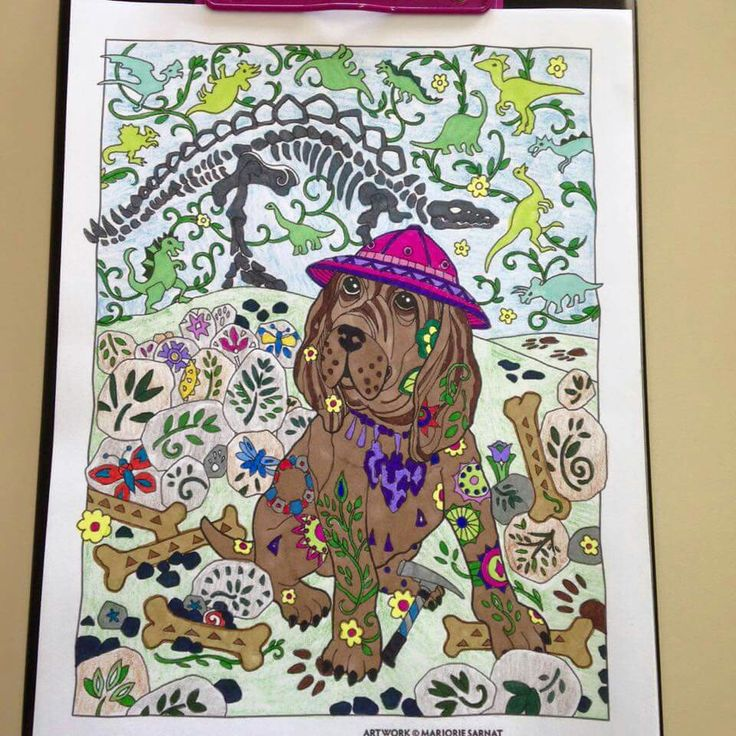 Pin By Shandra Wiley On Coloring Dazzling Dogs Pinterest